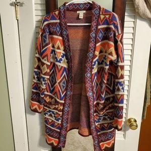 Forever 21 Fall Open Front Cardiagn